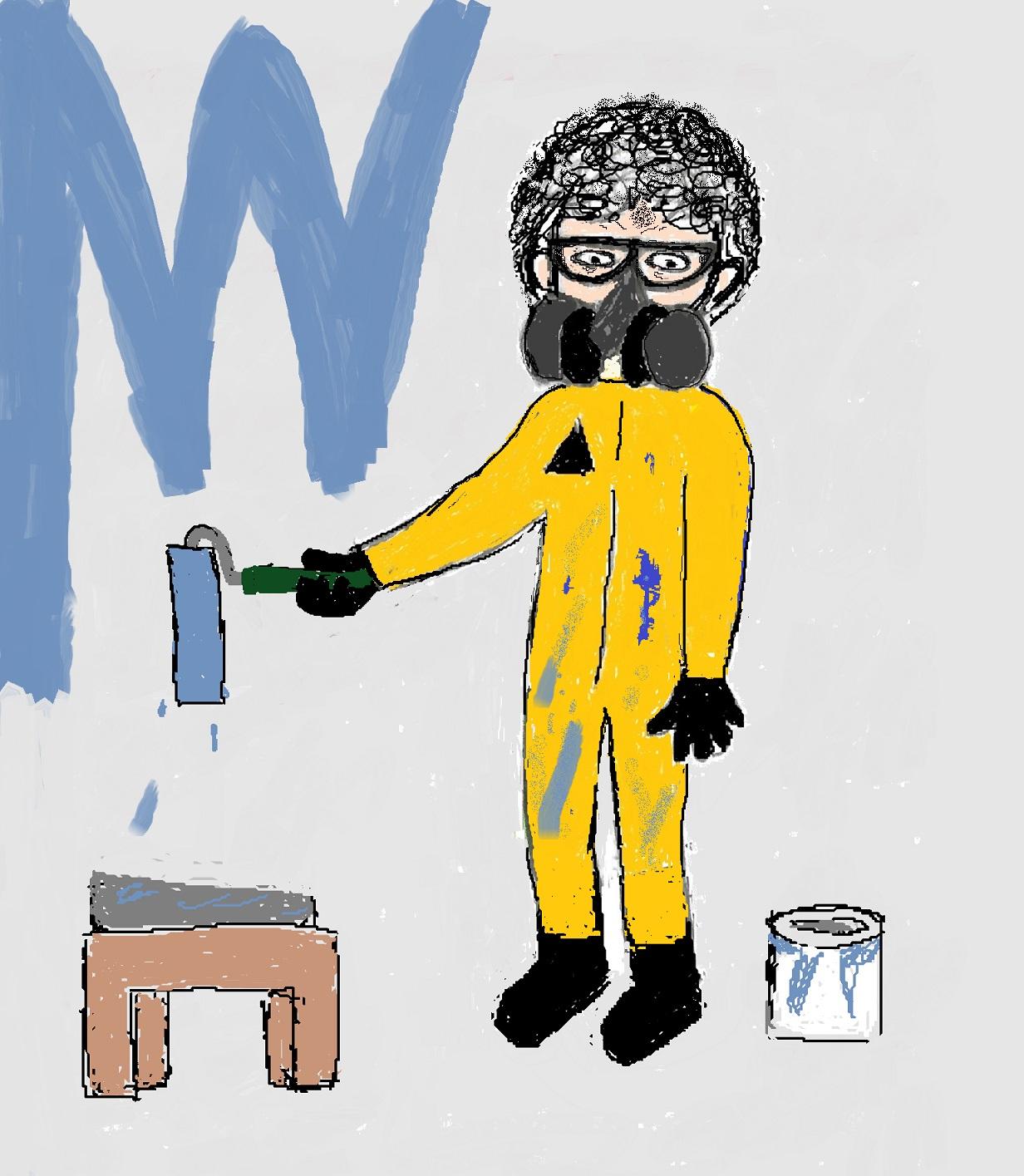 paint fumes, VOCs, toxin, toxic, less toxic
